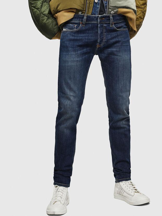 Sleenker 083AV, Dunkelblau - Jeans