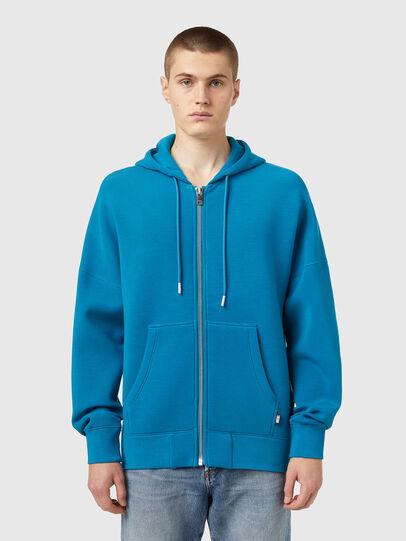 Diesel - S-KRIB-HOOD-ZIP, Blau - Sweatshirts - Image 1