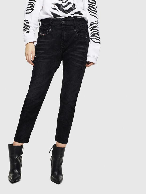 Fayza 0091I, Schwarz/Dunkelgrau - Jeans