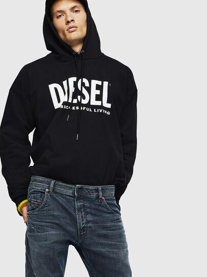 Diesel - Krooley JoggJeans 0870W, Mittelblau - Jeans - Image 4
