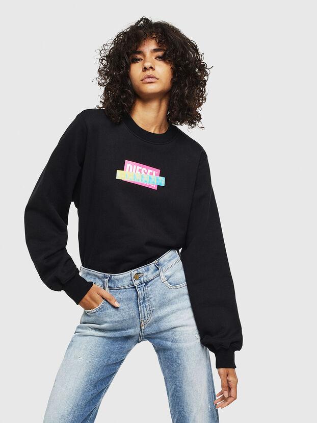 F-ANG-S1, Schwarz - Sweatshirts