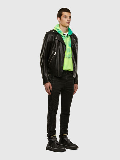 Diesel - D-REEFT JoggJeans® 009FY, Schwarz/Dunkelgrau - Jeans - Image 7