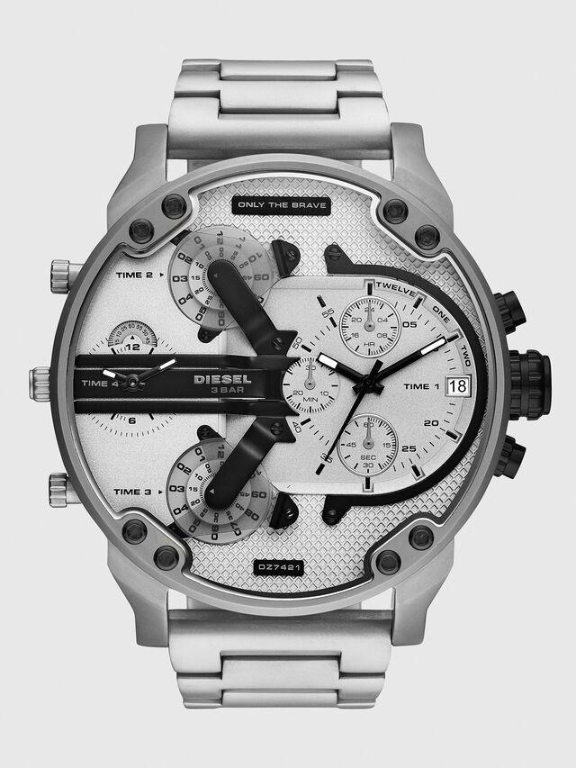 Diesel - DZ7421, Silber/Schwarz - Uhren - Image 1