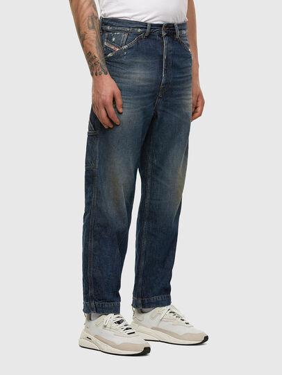 Diesel - D-Franky 009EW, Dunkelblau - Jeans - Image 5