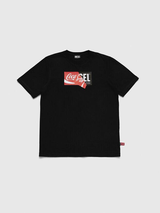 CC-T-JUST-COLA, Schwarz - T-Shirts