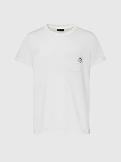 Diesel - T-WORKY-MOHI, Weiß - T-Shirts - Image 1