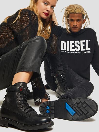 Diesel - D-THROUPER DBB Z, Schwarz - Stiefel - Image 6