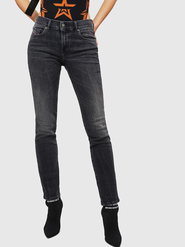 Sandy 081AH, Schwarz/Dunkelgrau - Jeans
