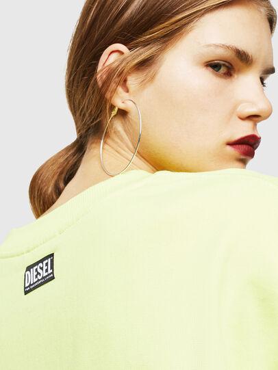 Diesel - F-AKUA, Neongelb - Sweatshirts - Image 5