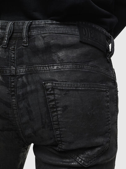 Diesel - Thommer JoggJeans 084AI, Schwarz/Dunkelgrau - Jeans - Image 4