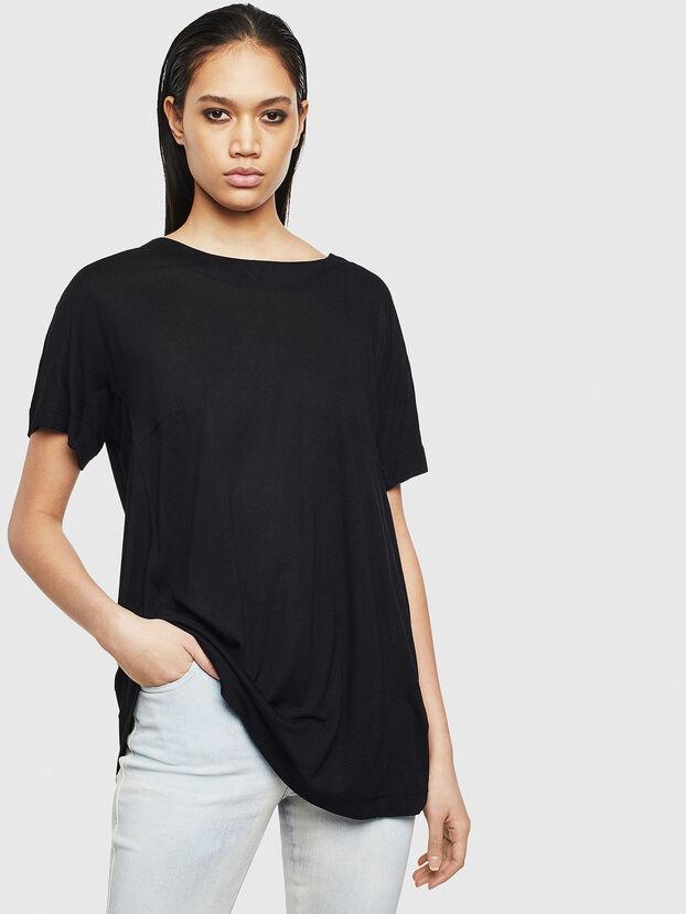 T-TOKY-S2, Schwarz - T-Shirts