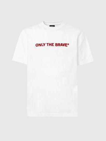 T-Shirt mit Teppichstickerei