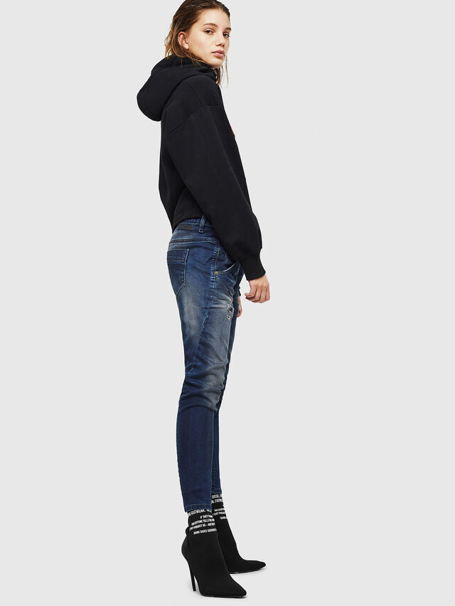 Diesel - Fayza JoggJeans 069GZ, Dunkelblau - Jeans - Image 4