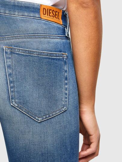 Diesel - Slandy 009QS, Hellblau - Jeans - Image 4