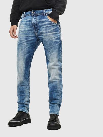 Diesel - Krooley JoggJeans 087AC, Mittelblau - Jeans - Image 1