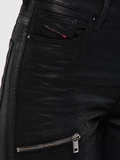 Diesel - D-Ollies JoggJeans 069RK, Schwarz/Dunkelgrau - Jeans - Image 5