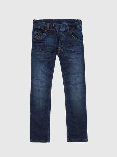 Diesel - KROOLEY-J JOGGJEANS, Mittelblau - Jeans - Image 1