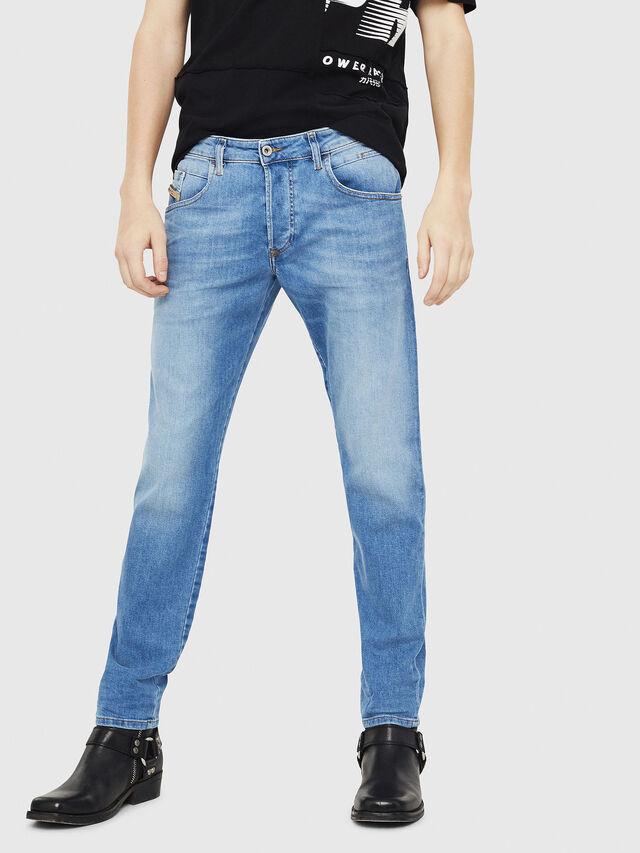 Diesel - D-Bazer 087AQ, Hellblau - Jeans - Image 1