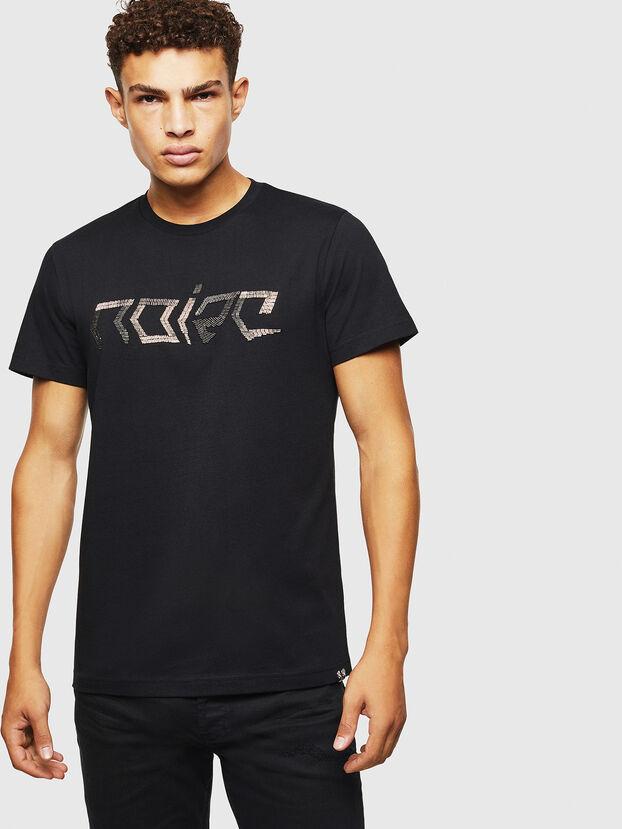 T-DIEGO-BAGH, Schwarz - T-Shirts