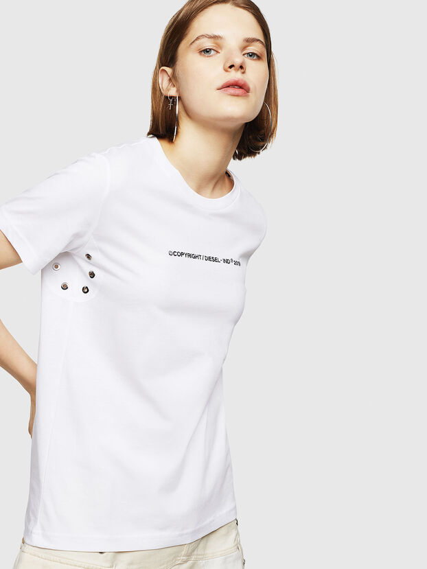 T-SILY-WR, Weiß - T-Shirts