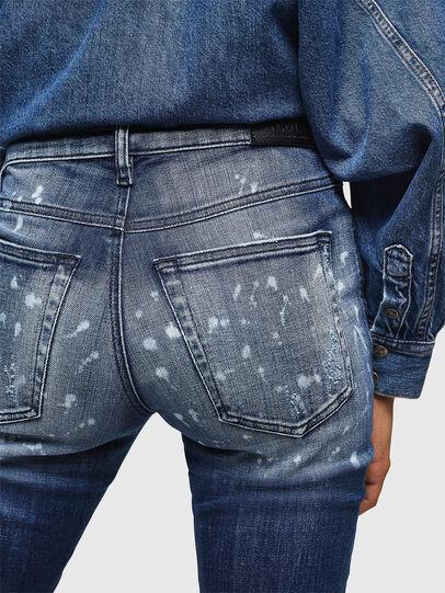 Diesel - Babhila 0091Y, Mittelblau - Jeans - Image 5