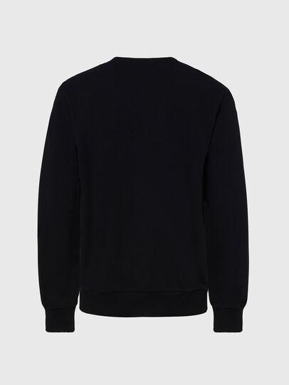 Diesel - S-GIRK-CUTY, Schwarz - Sweatshirts - Image 2