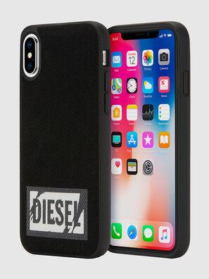 BLACK DENIM IPHONE X CASE,  - Schutzhüllen