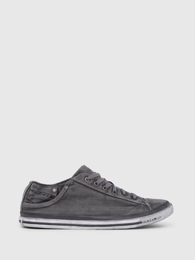 Diesel - EXPOSURE LOW I, Silbergrau - Sneakers - Image 1