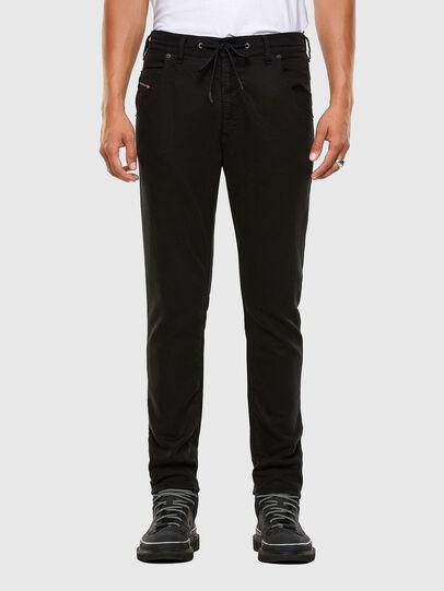 Diesel - KROOLEY JoggJeans® 069NC, Schwarz/Dunkelgrau - Jeans - Image 1