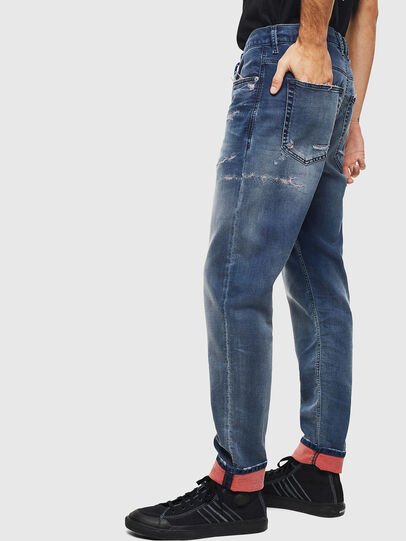Diesel - D-Vider JoggJeans 069LW, Dunkelblau - Jeans - Image 5