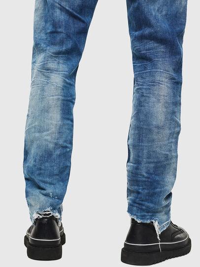 Diesel - Krooley JoggJeans 087AC, Mittelblau - Jeans - Image 5
