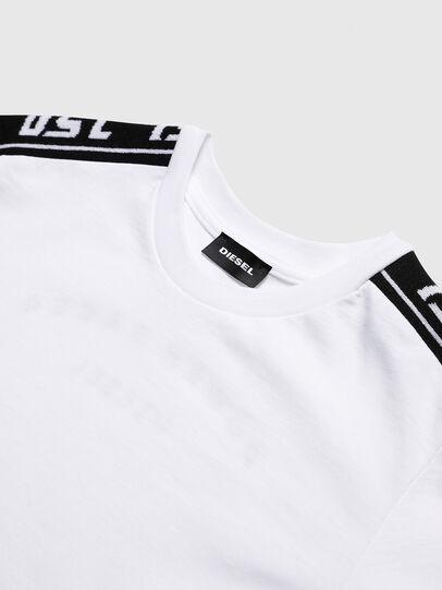 Diesel - TJUSTRACE, Weiß/Schwarz - T-Shirts und Tops - Image 3