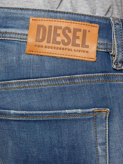 Diesel - Sleenker 009FC, Mittelblau - Jeans - Image 4