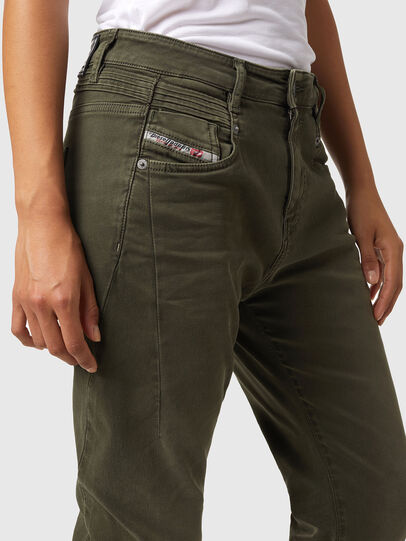 Diesel - Fayza JoggJeans® Z670M, Armeegrün - Jeans - Image 3