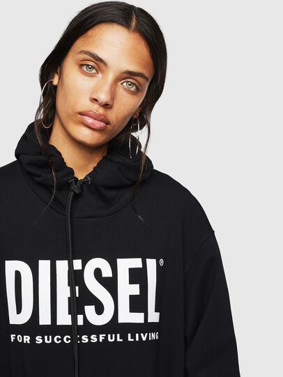 Diesel - D-ILSE-T, Schwarz - Kleider - Image 3