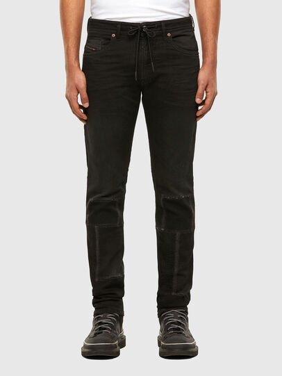 Diesel - Thommer JoggJeans® 009IC, Schwarz/Dunkelgrau - Jeans - Image 1