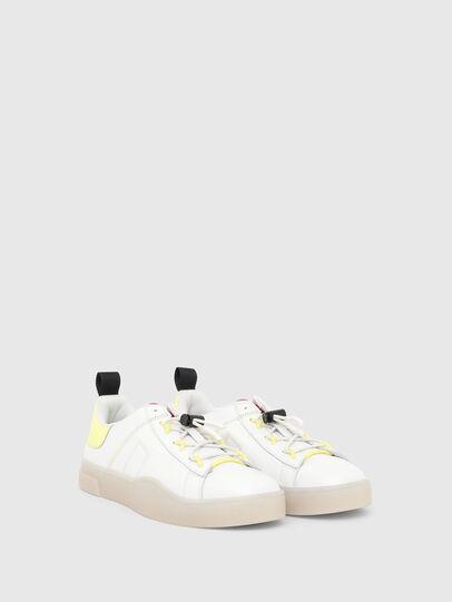 Diesel - S-CLEVER SO C, Weiss/Gelb - Sneakers - Image 2