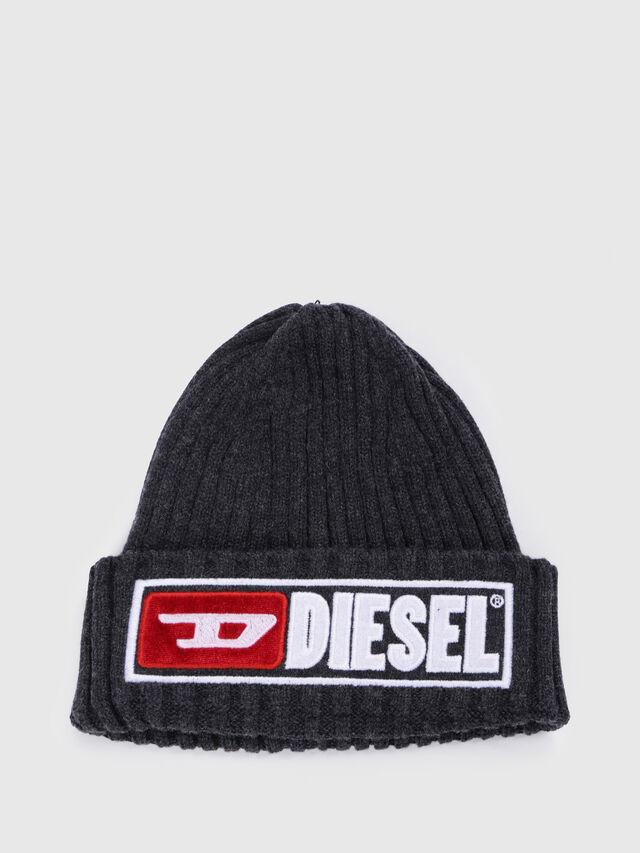 Diesel - K-CODER-B, Schwarz - Mützen - Image 1