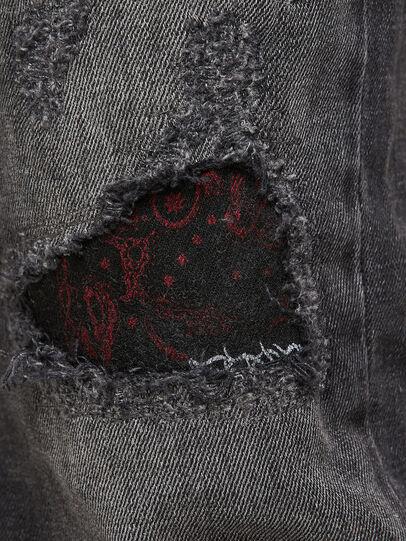 Diesel - Sleenker 009JN, Schwarz/Dunkelgrau - Jeans - Image 7