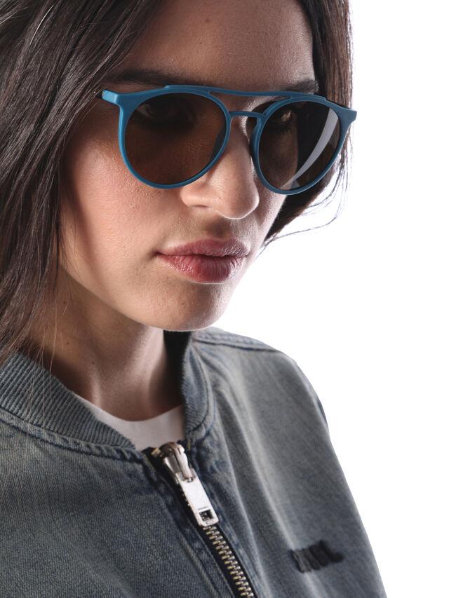 Diesel - DM0195, Blau - Sonnenbrille - Image 6