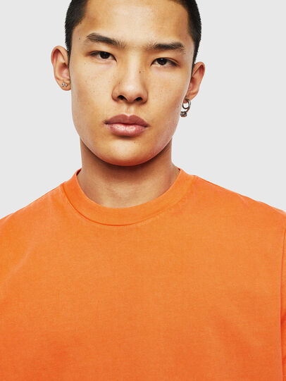 Diesel - T-THURE, Orange - T-Shirts - Image 3