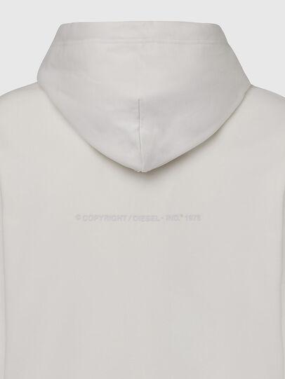 Diesel - S-GIRK-HOOD-X1, Weiß - Sweatshirts - Image 4