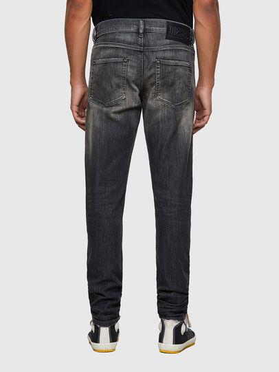 Diesel - D-Strukt JoggJeans® 09B54, Schwarz/Dunkelgrau - Jeans - Image 2