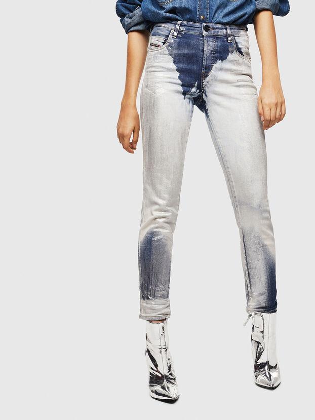 Babhila 0094W, Mittelblau - Jeans