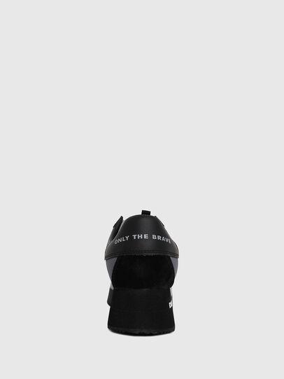 Diesel - S-PYAVE WEDGE, Blau/Schwarz - Sneakers - Image 4