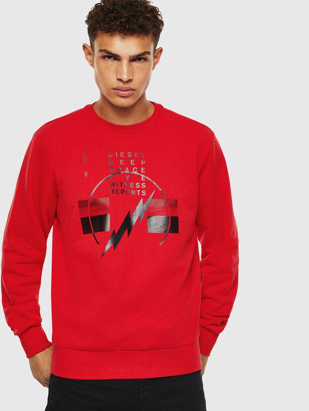 S-GIRK-J2, Rot - Sweatshirts