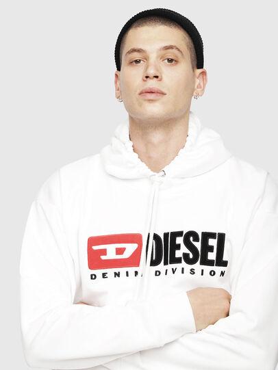 Diesel - S-DIVISION, Weiß - Sweatshirts - Image 3