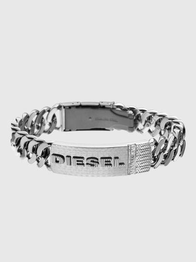 Diesel - DX0326, Silber - Armbänder - Image 1
