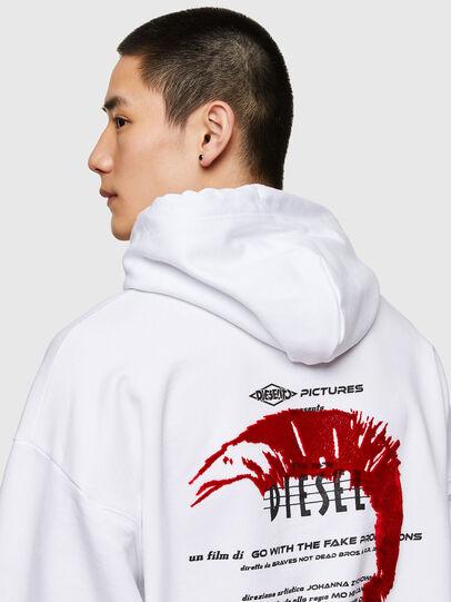 Diesel - S-UMMERIB-E2, Weiß - Sweatshirts - Image 4