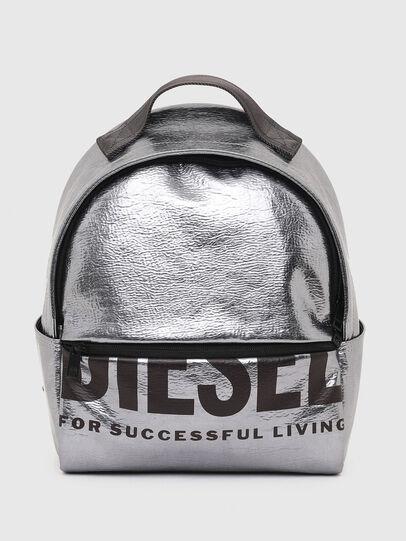 Diesel - F-BOLD BACK FL II, Silber - Rucksäcke - Image 1